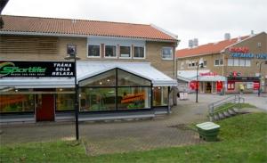 Fler och fler gym etablerar sig på torgen, som Sportlife på Torslanda torg och Curves på Kyrkbytorget. Foto: Michaela Jansson
