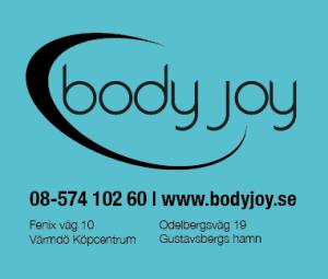 En logo med två adresser