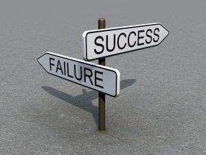 framgång:misslyckande